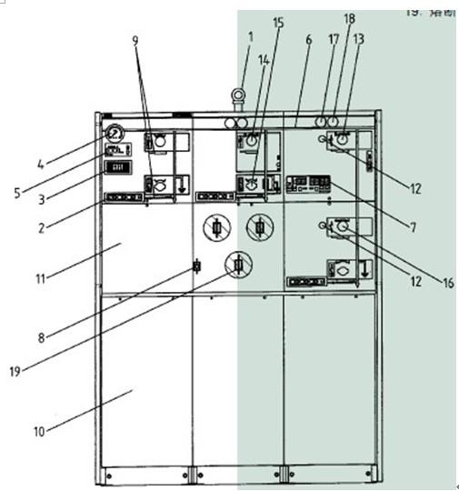 220v吊机手柄四根线接线图
